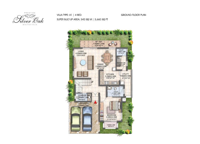 Prestige Silver Oak Floor Plan